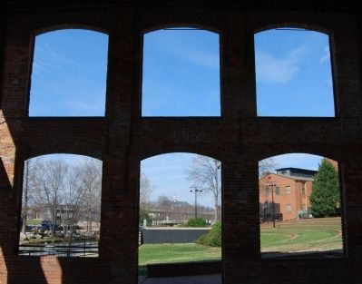 Wyche Pavilion -<br>Interior North Wall Photo, Click for full size