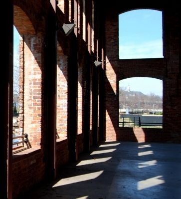 Wyche Pavilion -<br>Interior West Wall Photo, Click for full size