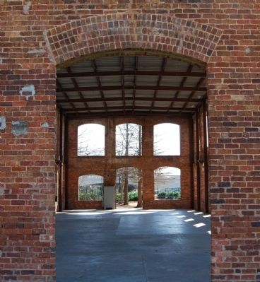 Wyche Pavilion -<br>Exterior North Wall Photo, Click for full size