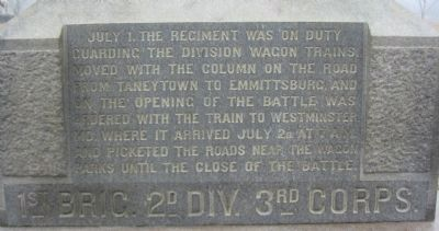 Close Up of Front Inscription image. Click for full size.