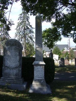 Headstone of Gen. J.R. Jones Photo, Click for full size
