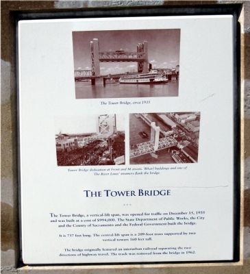 The Tower Bridge Marker image. Click for full size.