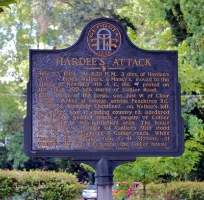 Hardee's Attack Marker image. Click for full size.