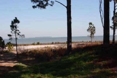 Fort Walker beach were Union troops landed ashore Photo, Click for full size