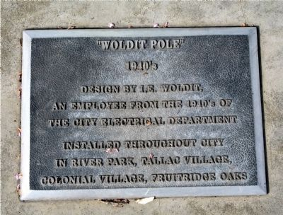 """Woldit Pole"" image. Click for full size."