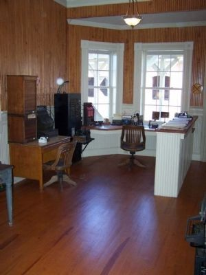 Branchville Depot Office image. Click for full size.