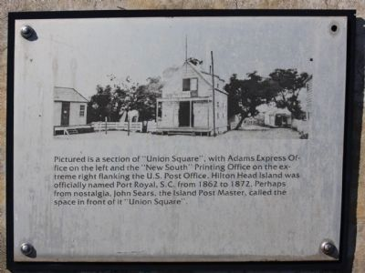 """Robbers Row"" Union Square Interpretive Marker image. Click for full size."