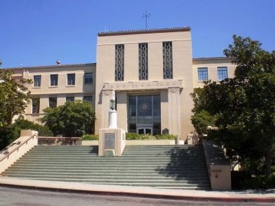 (Second) San Luis Obispo County Court House (Constructed 1940) image. Click for full size.