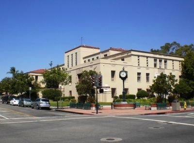 Second San Luis Obispo County Court House (from Monterey Street and Osos Street Intersection) image. Click for full size.