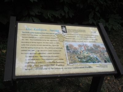 The Endview Spring Marker Photo, Click for full size