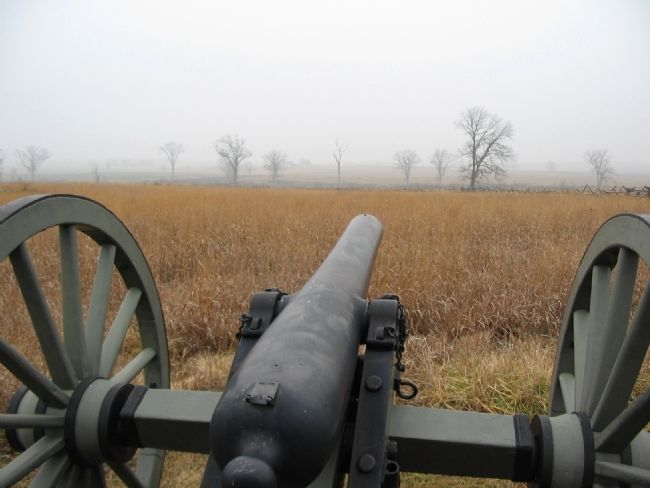 View from One of Rank's Guns image. Click for full size.