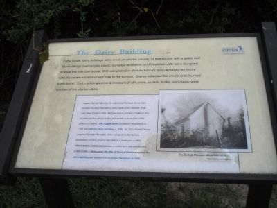 The Dairy Building Marker Photo, Click for full size