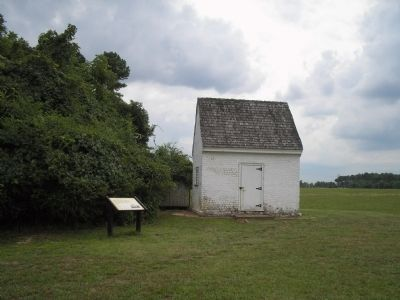 Marker at the Endview Plantation Photo, Click for full size