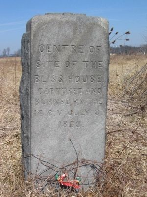 Site of the Bliss House Marker image. Click for full size.