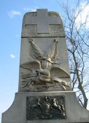Upper Front of Monument image. Click for full size.