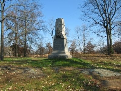 139th Pennsylvania Infantry Monument image. Click for full size.
