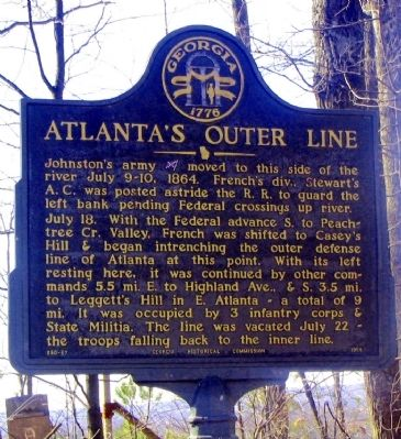 Atlanta's Outer Line Marker image. Click for full size.