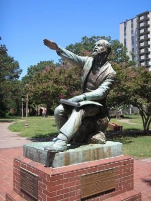 Collis Potter Huntington Statue image. Click for full size.