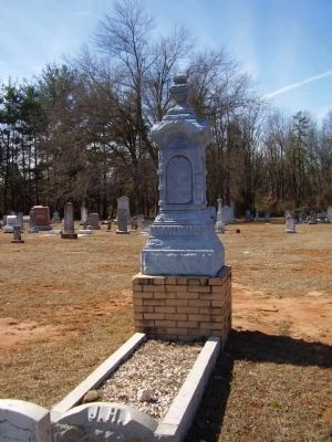 Joshua Hawkins Grave Marker image. Click for full size.