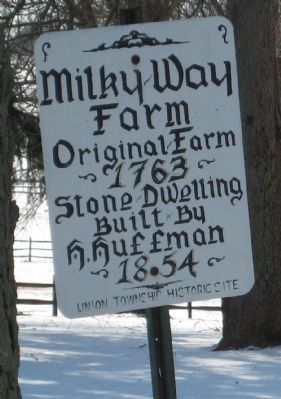 Milky Way Farm Marker Photo, Click for full size