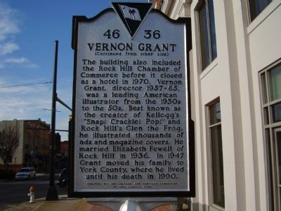 Vernon Grant Marker Photo, Click for full size