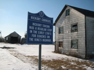 Hickory Corners Marker Photo, Click for full size