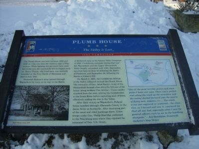 Plumb House Marker Photo, Click for full size