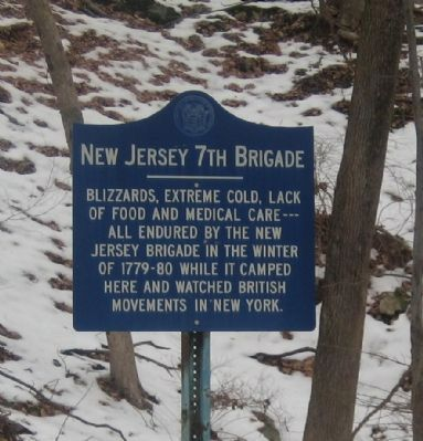 New Jersey 7th Brigade Marker image. Click for full size.