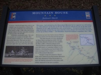 Mountain House Marker Photo, Click for full size