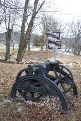 Windlass or Crab Winch and Marker Photo, Click for full size