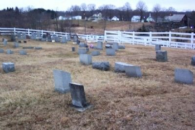 Quaker Cemetery Photo, Click for full size