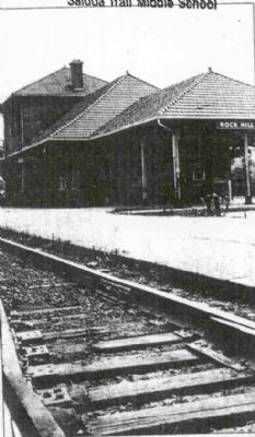 Rock Hill Railway Depot Photo, Click for full size