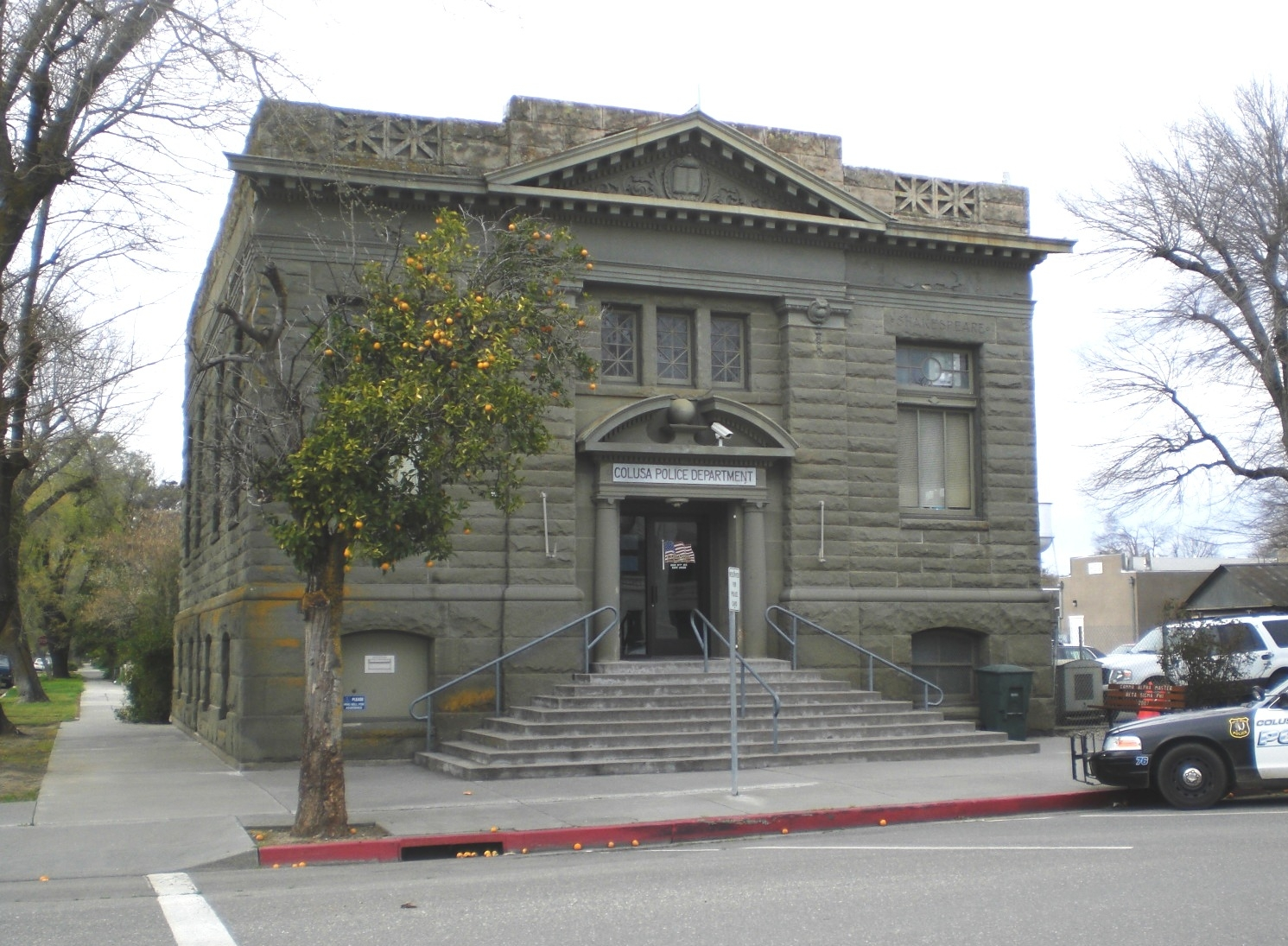 Colusa Carnegie Library (Constructed 1906)