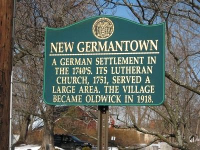 New Germantown Marker image. Click for full size.