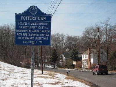 Potterstown Marker Photo, Click for full size