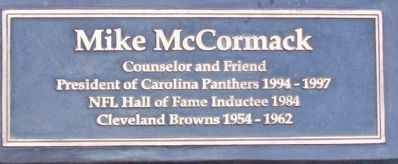 Mike McCormack Marker Photo, Click for full size
