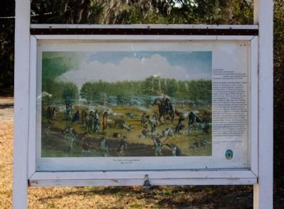 Battle of Coosawhatchie Marker Photo, Click for full size