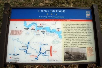 Long Bridge CWT Marker image. Click for full size.