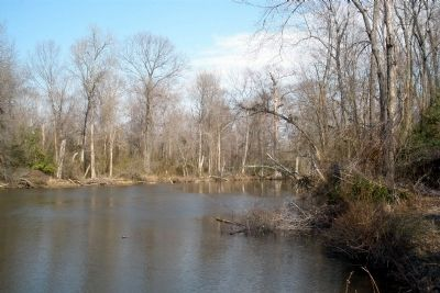 Chickahominy River near the site of Long Bridge image. Click for full size.