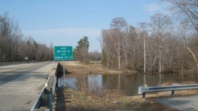 Chickahominy River near site of Long Bridge image. Click for full size.