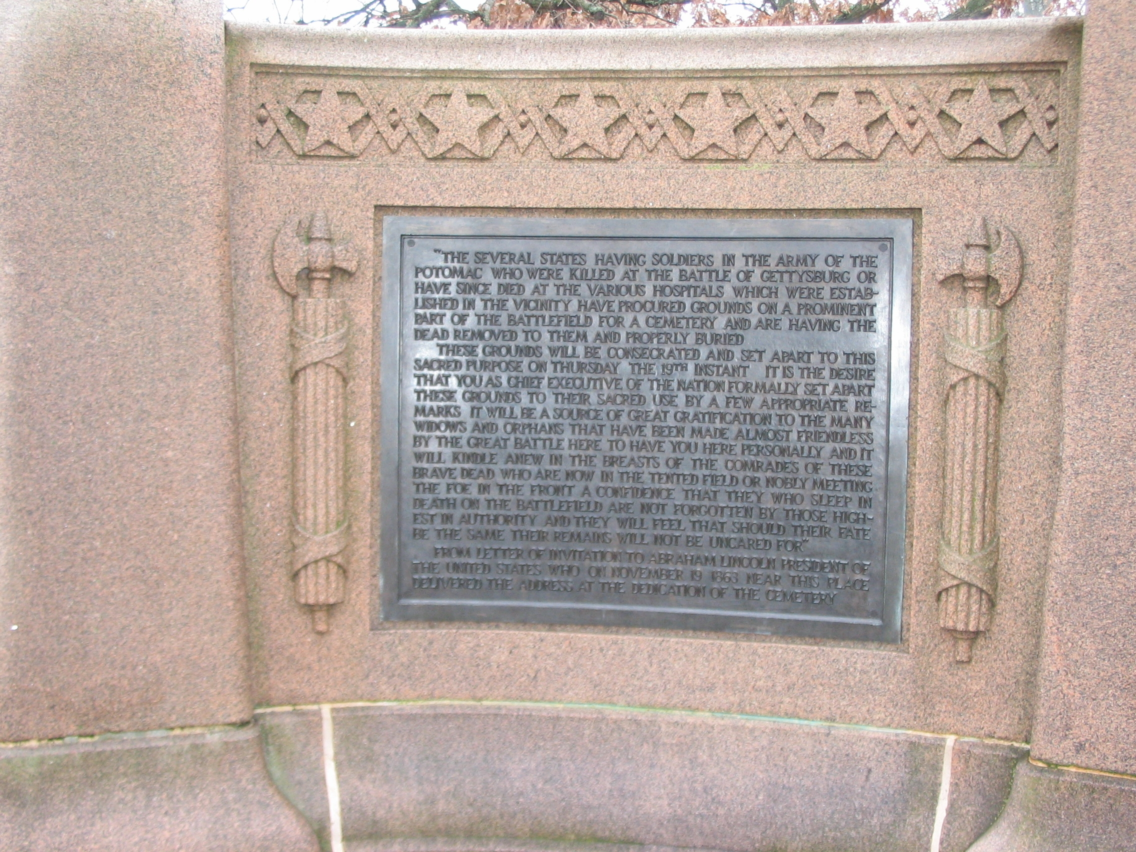 Left Side Plaque
