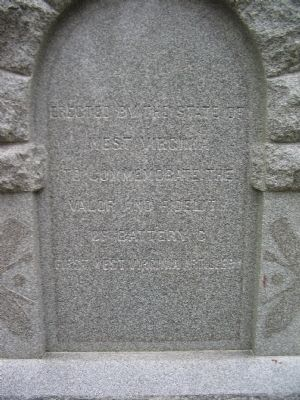 Close Up of the Inscription image. Click for full size.