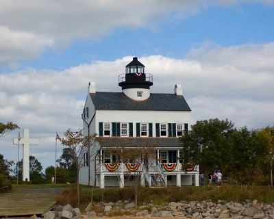 St. Clement's Island Lighthouse image. Click for full size.
