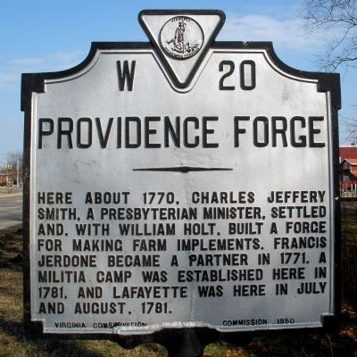 Providence Forge Marker image. Click for full size.