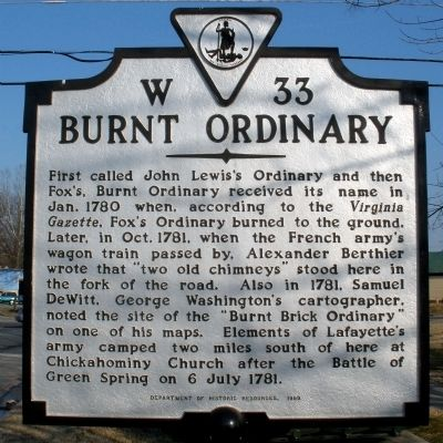 Burnt Ordinary Marker Photo, Click for full size