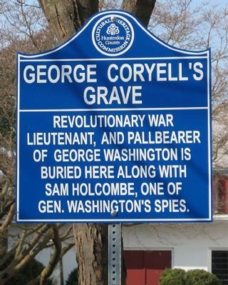George Coryell's grave Marker image. Click for full size.