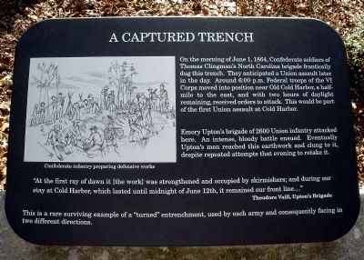 A Captured Trench Marker image. Click for full size.