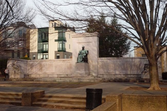 President Buchanan Memorial, Meridian Hill/Malcolm X Park, 2009 Photo, Click for full size