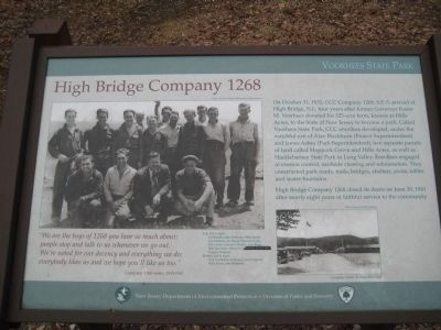 High Bridge Company 1268 Marker image. Click for full size.
