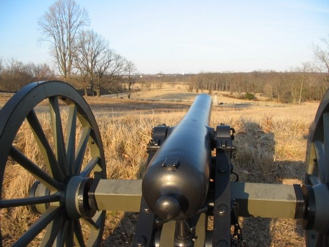 Battery's View of the Confederate Advance image. Click for full size.